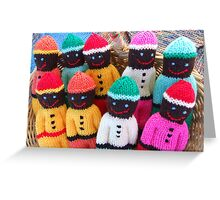 Comfort Dolls Greeting Card