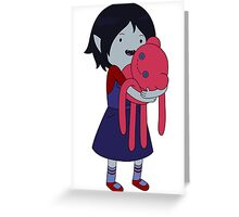Marceline and Hambo Greeting Card