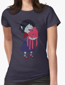 Marceline and Hambo Womens Fitted T-Shirt