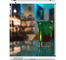 Absinth shots iPad Case/Skin