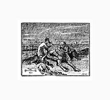 HORSE EATING FAMINE Unisex T-Shirt