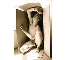 This Boy in a Box Photographic Print