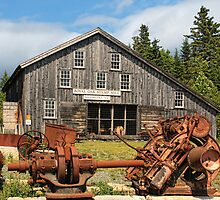 Royal Oak Stamp Mill, Sherbrooke by Amanda White