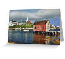 Prospect, Nova Scotia Greeting Card