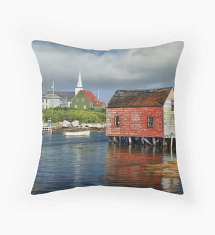 Prospect, Nova Scotia Throw Pillow