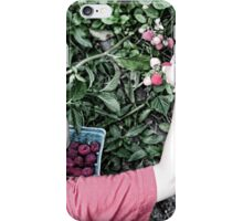 Picking Raspberries iPhone Case/Skin