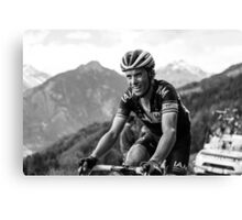 Sylvain Chavanel (IAM Cycling) Canvas Print