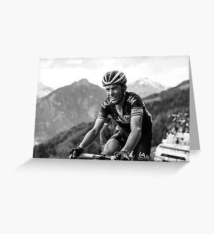 Sylvain Chavanel (IAM Cycling) Greeting Card