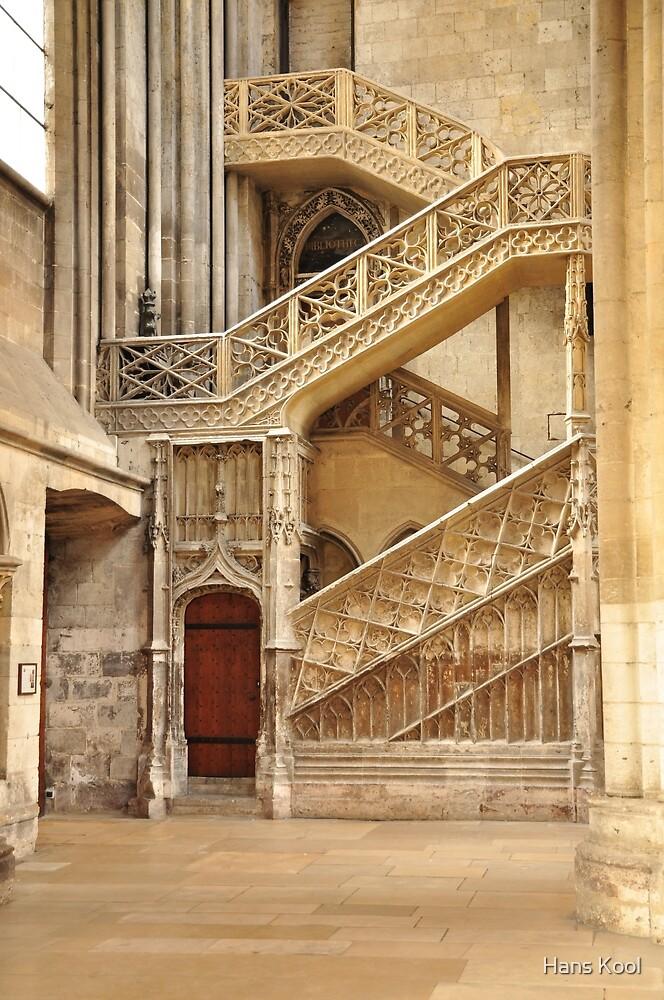 The Booksellers' Stairway by Hans Kool