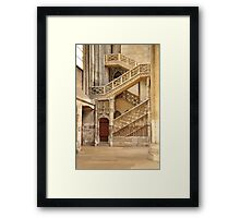 The Booksellers' Stairway Framed Print