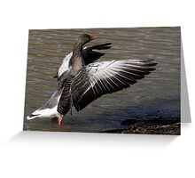 With These Wings Greeting Card