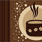 Coffee Cup Time Modern Illustration by EveStock