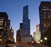 Trump Tower - Chicago by eegibson