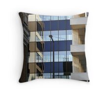 Downtown Saint Paul, Surrounded By Illusions... Throw Pillow