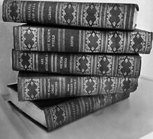 Stack of Classic Books by piratice