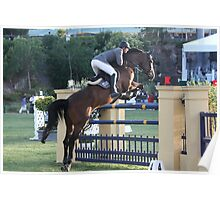 Horse rider 8282 Poster