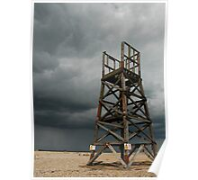 The Old Watch Tower & The Coming Storm Poster