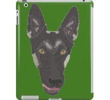 color dog dog iPad Case/Skin