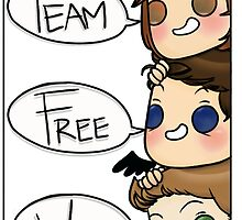 Team Free Will Speech Bubble by Citra K