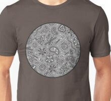 Microbes - Grey / Gray Unisex T-Shirt