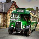 Vintage Bus by Tom Gomez