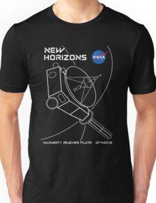 New Horizons -- Humanity Reaches Pluto 07142015 Unisex T-Shirt
