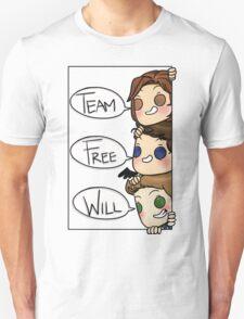 Team Free Will Speech Bubble T-Shirt