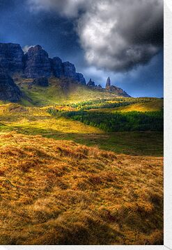 The Old Man of Storr by Susan Dost