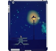 Lonely Man under the Lonely Light iPad Case/Skin