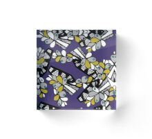 Grape Bunch Acrylic Block