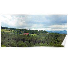 VT hillside Poster