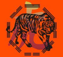 Kung Fu Tiger  and symbol by Lotacats