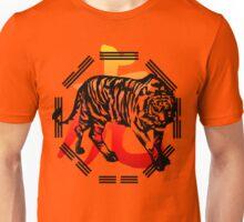 Kung Fu Tiger  and symbol Unisex T-Shirt