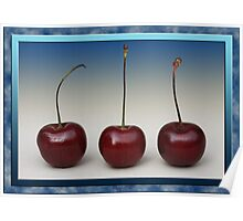 Cherry Trio Poster