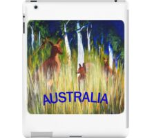Roos in the Grass  iPad Case/Skin