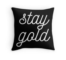 THE OUTSIDERS 'STAY GOLD' Throw Pillow