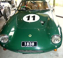 1961 Lotus Elite Super 95 by Chris Chalk