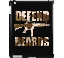 DEFEND BEARDS iPad Case/Skin