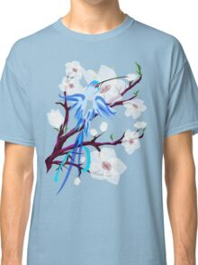 Bird and Cherry Blossoms Classic T-Shirt