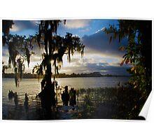 Lake Maitland Sunset Poster