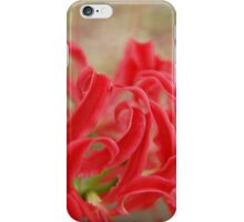 Vibrant Red  iPhone Case/Skin