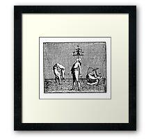 ANCIENT ACROBATS Framed Print