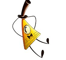 Bill Cipher by Tess Courtess