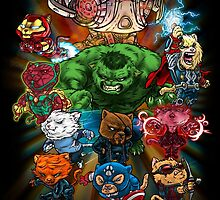 CATVENGERS-Age of Mewtron by danielcm