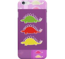 BEHOLD ...  THE DEADLY STEGOSAURUS RAMPAGE iPhone Case/Skin