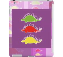 BEHOLD ...  THE DEADLY STEGOSAURUS RAMPAGE iPad Case/Skin