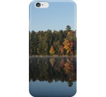 Lakeside Cottage Living - Peaceful Morning Mirror iPhone Case/Skin