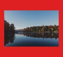 Lakeside Cottage Living - Peaceful Morning Mirror Kids Tee