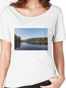 Lakeside Cottage Living - Peaceful Morning Mirror Women's Relaxed Fit T-Shirt