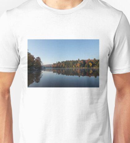 Lakeside Cottage Living - Peaceful Morning Mirror Unisex T-Shirt